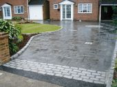 Paving Finished Wet
